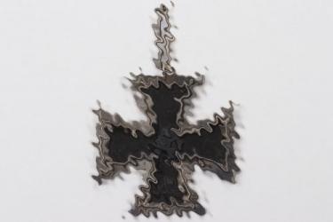 1939 Iron Cross 2nd Class worn as Knight's Cross