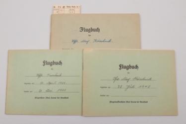 NJG 7/2 flight books to Uff. Kuschnik