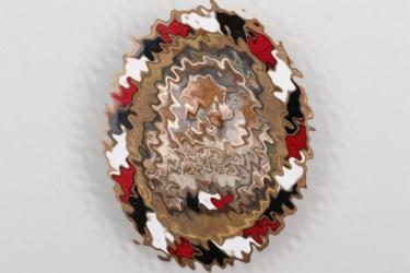 """Freikorps """"Treubund Schlageter"""" enamel badge"""