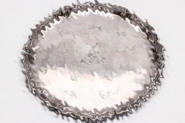 I./A.R.59 engraved silver presentation plate