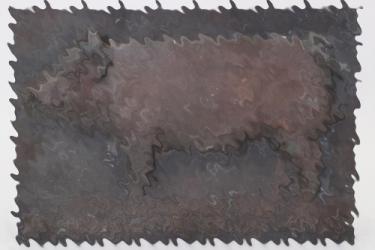 Third Reich pig breeding wall plaque