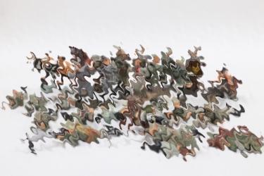 Elastolin - Lineol - Konvolut Massefiguren Soldaten