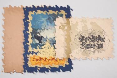 """Third Reich """"Unsere Marine"""" & """"Deutsche Heimat"""" cigarette card album"""