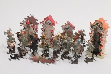 Elastolin - Lineol - Konvolut Soldaten und Wachhäuschen