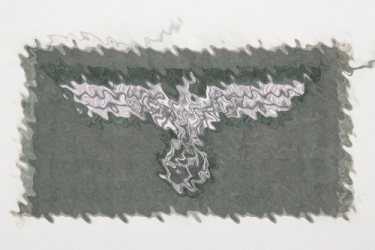 Heer officer's breast eagle - machine-woven