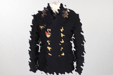 Kriegsmarine colani tunic with shirt - Obermaschinenmaat Sickinger