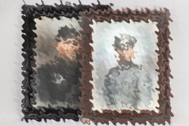 2 + Heer Panzer framed portrait photos