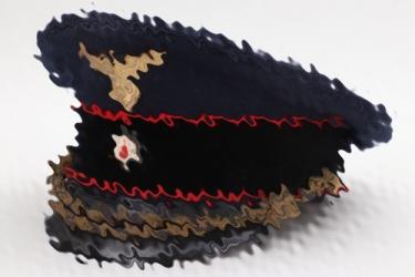 Third Reich Reichsbahn visor cap