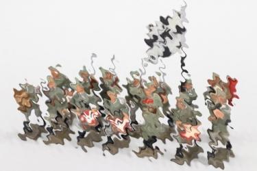 Lineol - Konvolut Wehrmachtssoldaten 4cm Serie