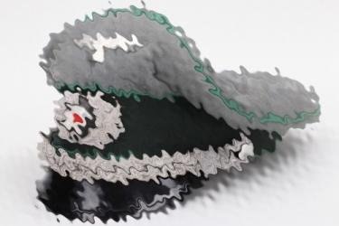 Hptm. Schöbitz (Knight's Cross) - Heer Gebirgsjäger officer's visor cap