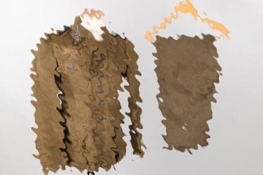 Heer M43 tropical Sanitätstruppe tunic & trousers - 1944