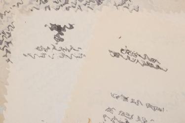 2 + Gauleiter Karl Kaufmann signed letters