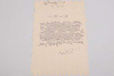 Bitterlich, Hans - letter of a Goethe Medal recipient