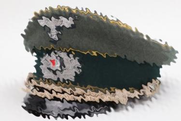 Heer Nachricht visor cap - officer (1937)