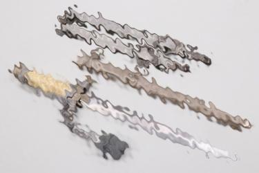Heer officer's dagger with hangers & portepee - Wingen