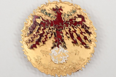 1940 Tirol shooting badge in gold - Landesschießen