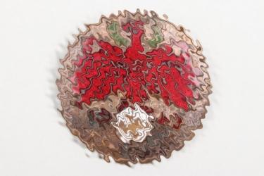 1943 Tirol shooting badge in bronze - KK Gewehr