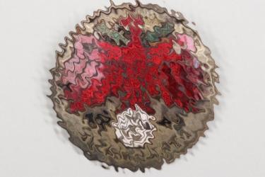 1941 Tirol shooting badge in silver - Kleinkaliber