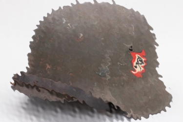 Waffen-SS M42 double decal helmet - hkp66