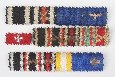 Wehrmacht lot of ribbon bars