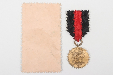 Sudetenland Medal with bag