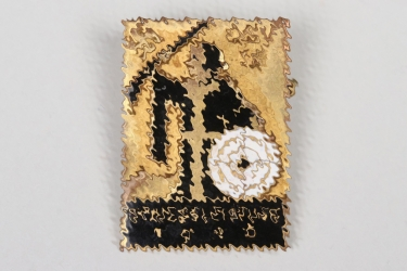 1936 Third Reich DSV enamel shooting badge