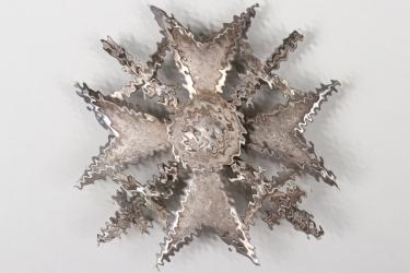 "Spanish Cross in silver with swords ""CEJ"" - 900"