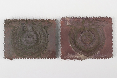 2x Waffen-SS EM/NCO buckles