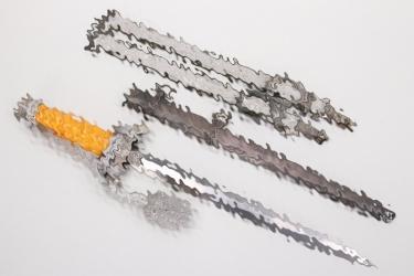 Heer officer's dagger with hangers & portepee - Herder