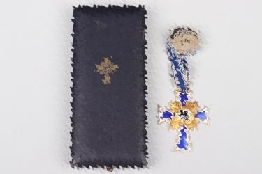 Mother's Cross in gold in case - Türk's