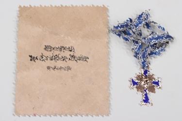 Mother's Cross in bronze + bag