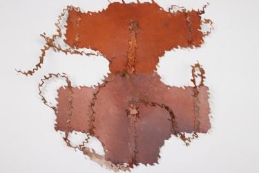 2x Wehrmacht Gebirgsjäger Tragtier leather cover - dkk 44