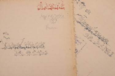 """War diary to the """"Kampfgruppe"""" for July & August, 1943"""