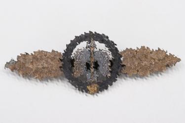 Squadron Clasp for Nachtjäger in bronze - R.K. (variant!)