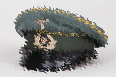 Wehrmacht/Reichswehr EM/NCO Cavalry visor cap