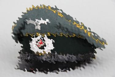 Nachr.Abt.35 Heer visor cap to Gefr.Frank