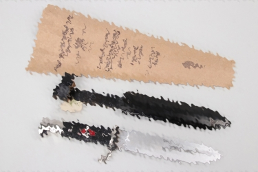 HJ knife with RZM paper tag & bag - M7/13