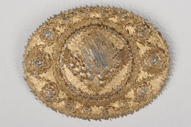 RADwJ commemorative brooch in gold