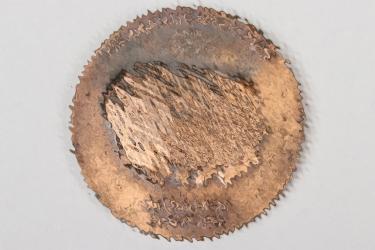 """1938 """"Viermächte Abkommen"""" bronze plaque"""
