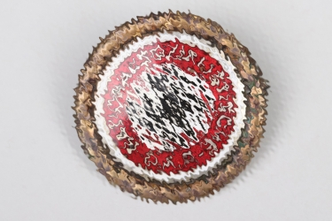 """NSDAP Golden Party Badge """"88318"""" - large type"""