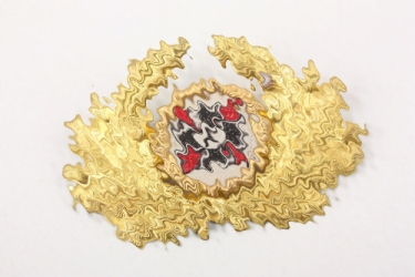 Third Reich DRKB cap badge