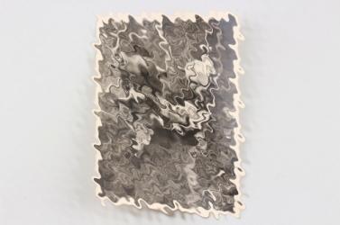 SS-Gebirgsdivision NORD postcard - Verwundetentransport auf Sumpfschlitten