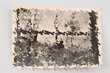 SS-Gebirgsdivision NORD postcard - Gut getarnt auf Posten vor dem Feind