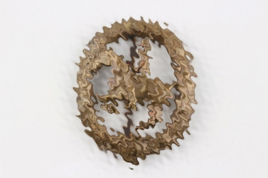 German Horseman's Badge in bronze - Lauer