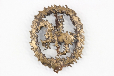 German Horseman's Badge in bronze