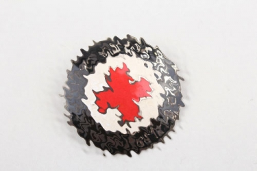 Third Reich DRK Helferin enamel brooch