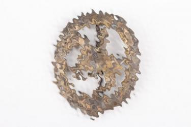 German Horseman's Badge in bronze - Steinhauer & Lück