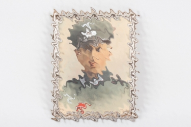 Wehrmacht colorized Artillerie portrait photo