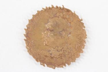 Third Reich ADOLF HITLER coin UNSER DIE ZUKUNFT