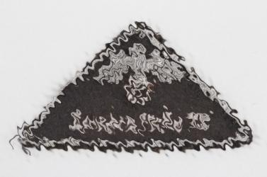 DRK leader's sleeve badge LANDESSTELLE XIII